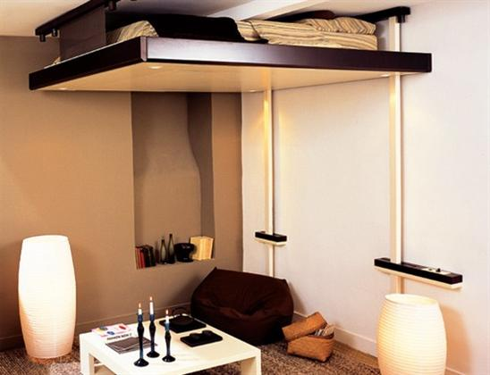 Como decorar mi casa blog de decoracion april 2013 - Cama para espacios reducidos ...
