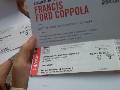 Francis Ford Coppola en Gijón