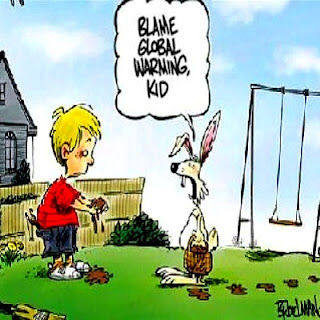 easter funny global warming