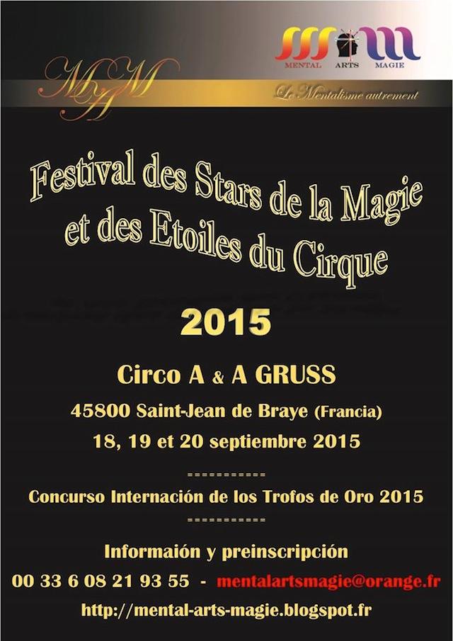 Festival des Stars de la Magie et des Etoiles du Cirque - Concurso Internacion de los Trofos de Oro 2015