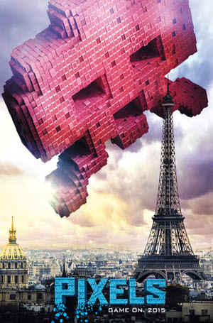 Pixels: Official Theatrical Release Poster