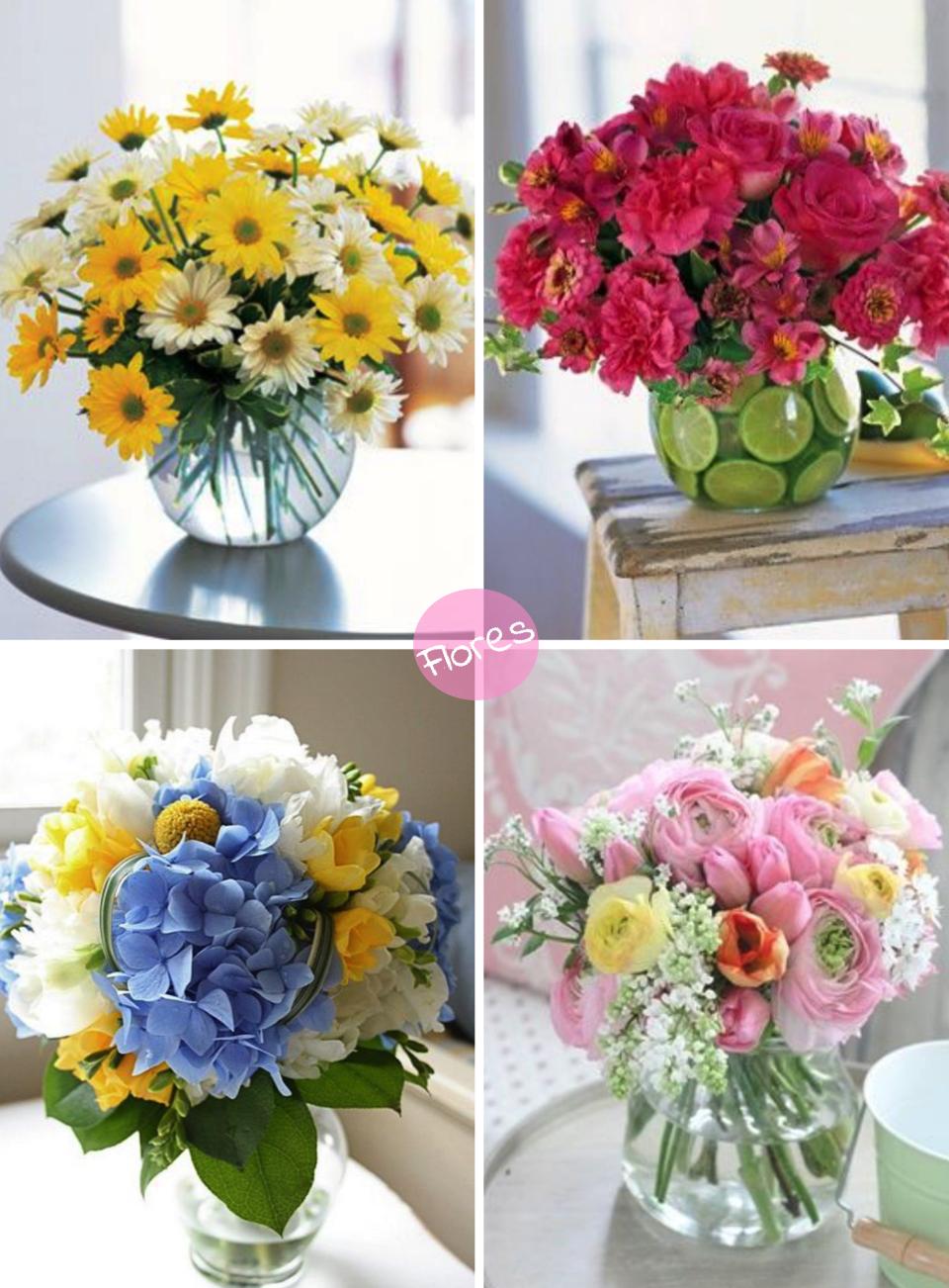 Flores ideas para decorar nuestro hogar el mundo de aia for Tips para decorar el hogar