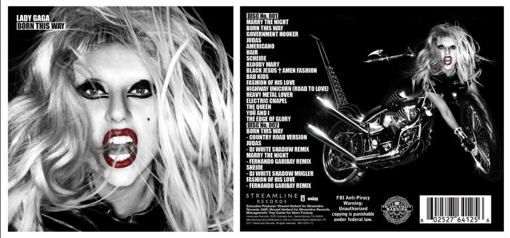 lady gaga born this way special edition disc 1. Born This Way (Special Edition