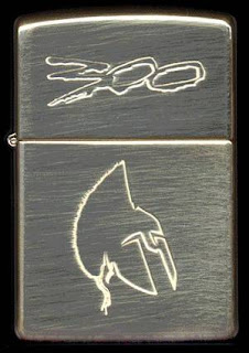 zippo, 300, sincity, sparta, frank miller, lighter, mechero, pelicula, movie, comic