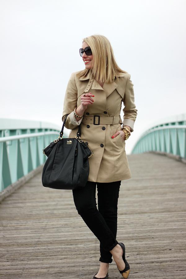 Zara Trench Coat Spring 2013
