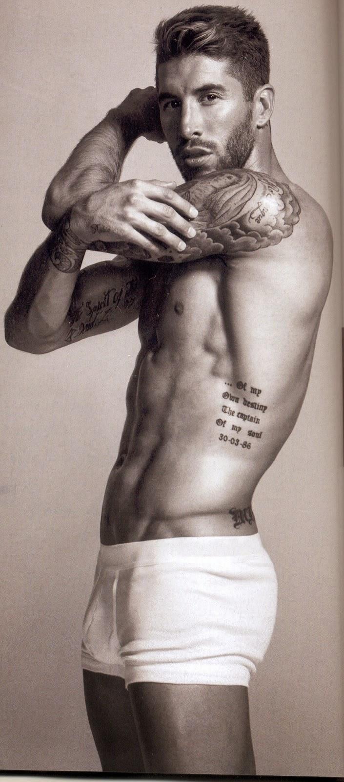 Sergio Ramos underwear