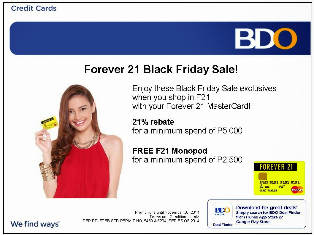 BACK FRIDAY SALE AT FOREVER 21
