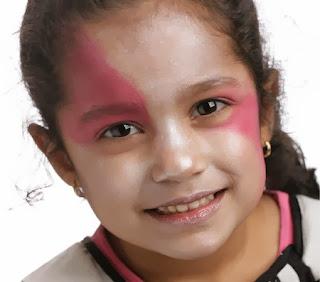 Caras Pintadas para Niñas, Diseño Draculina