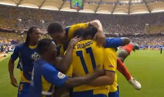 gol de Ecuador en Alemania 2006