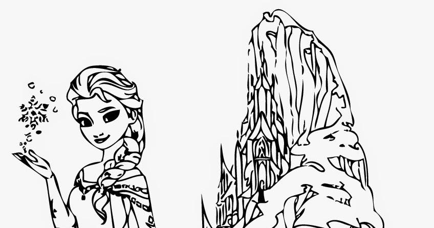 Disney Frozen Coloring Pages Elsa Instant Knowledge