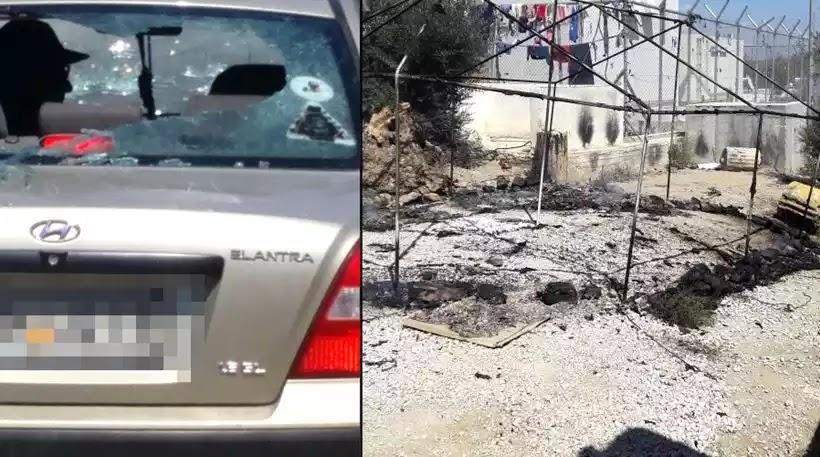 Μόρια: Κατεστάλη η εξέγερση - Πέντε αστυνομικοί τραυματισμένοι