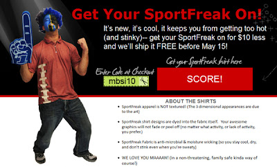KGS Artwear releases new product line of sport apparel called SportFreak