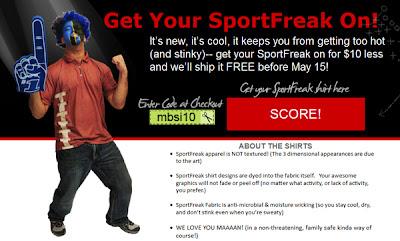 KGS Artwear releases new product line of sport apparel called SportFreak