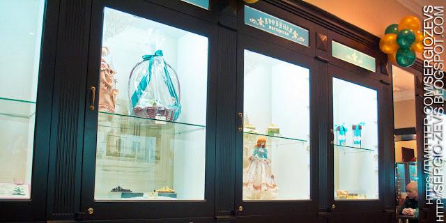 Куклы выставленные в кофейне улица Красная