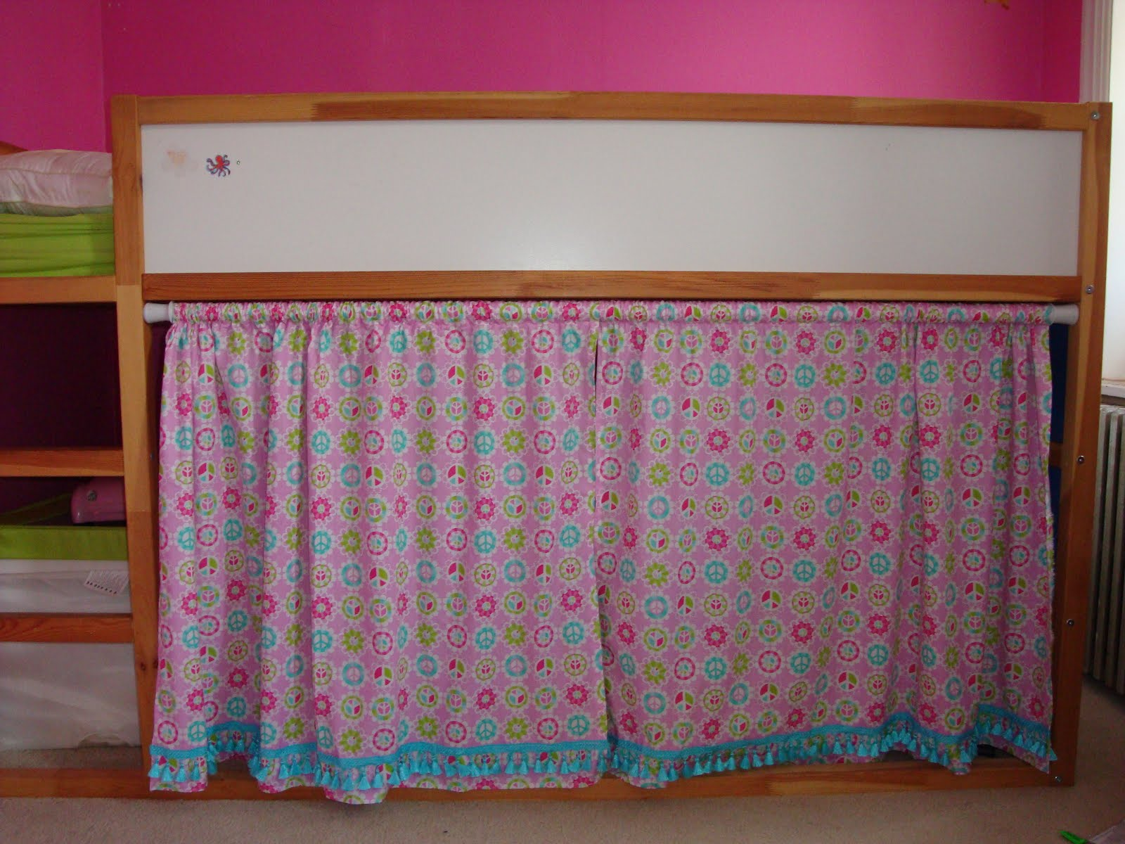 Bunk bed curtains ikea the curtains are four lenda - Bunk Bed Curtains Ikea We Bought This Ikea Bunk Bed
