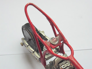 Quadro Motocross Miniatura