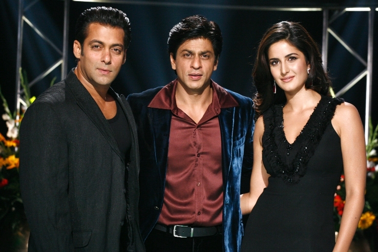 Salman Khan with Shahrukh Khan and Katrina Kaif Photos