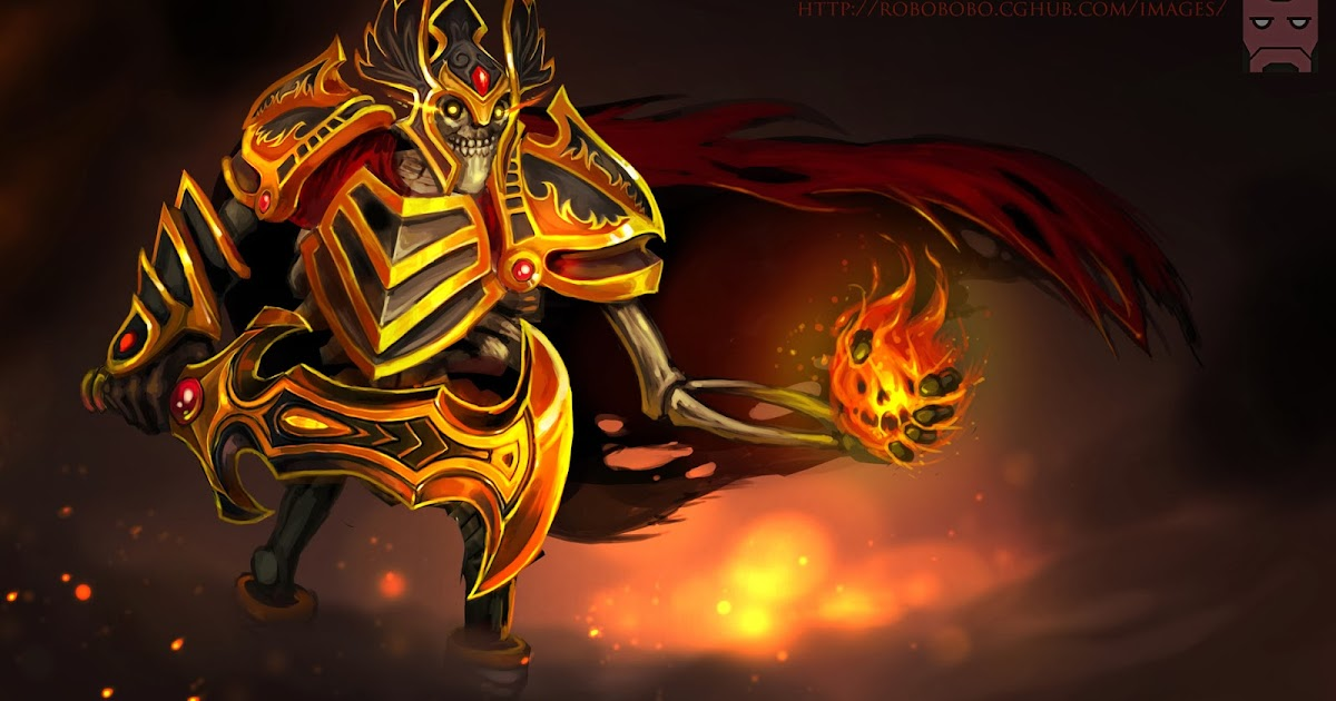 Skeleton King Dota 2 5q Wallpaper HD
