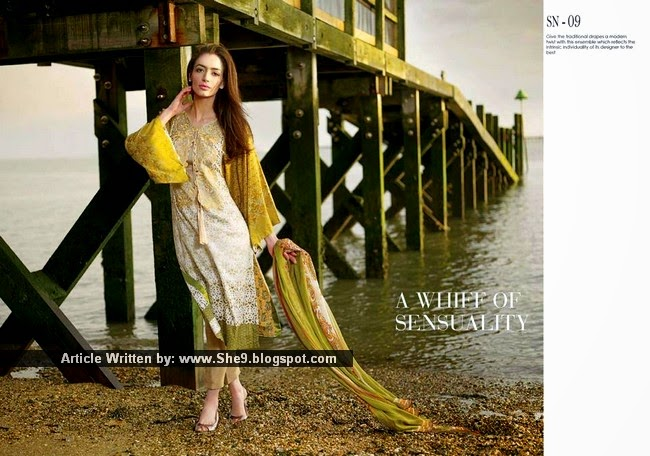 Sobia Nazir Spring-Summer Collection 2015