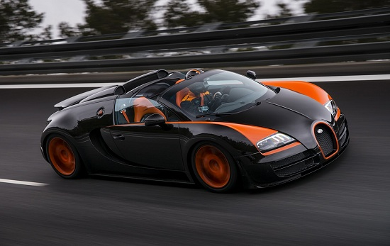Bugatti Veyron Grand Sport Vitesse WRC