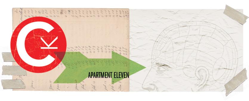 apartment eleven.