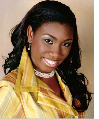 Miss United States Virgin Island World Paradise 2012 Taiesa Annique Lashley