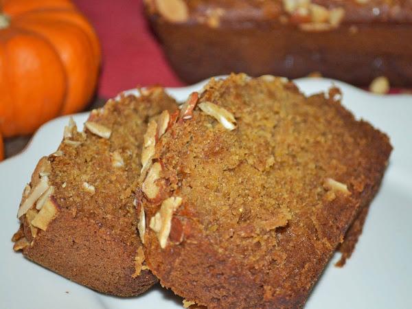 Whole Wheat Honey Almond Butternut Squash Bread (Dairy Free)