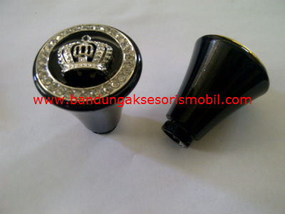 Gear Knob DAD Medium Chrome+Mahkota