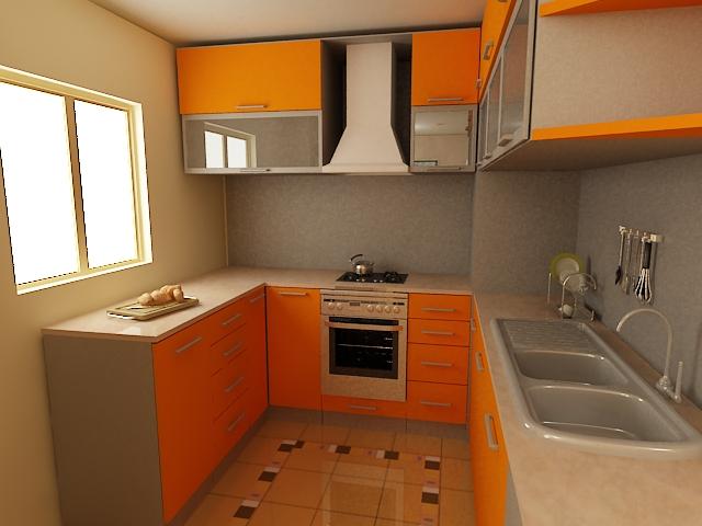 Desain Dapur Minimalis Mungil 2014