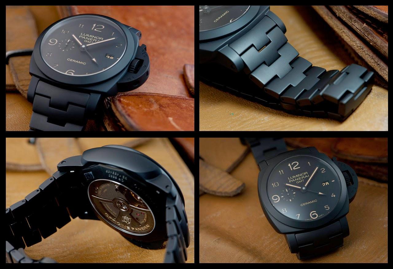 7617f22fc25 Swiss Design Watches  All black Automatic Ceramica---Panerai ...