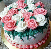 ROSE BUTTERCREAM DECO.CAKE