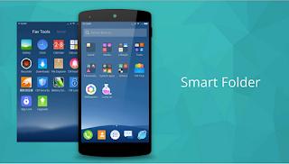cm launcher smart folder