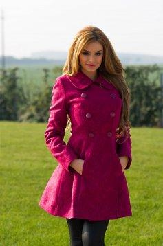 Palton Dama Fuchsia
