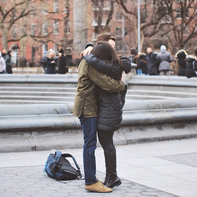 Our Washington Square Park engagement