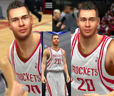NBA 2K14 Donatas Motiejunas Cyberface Patch