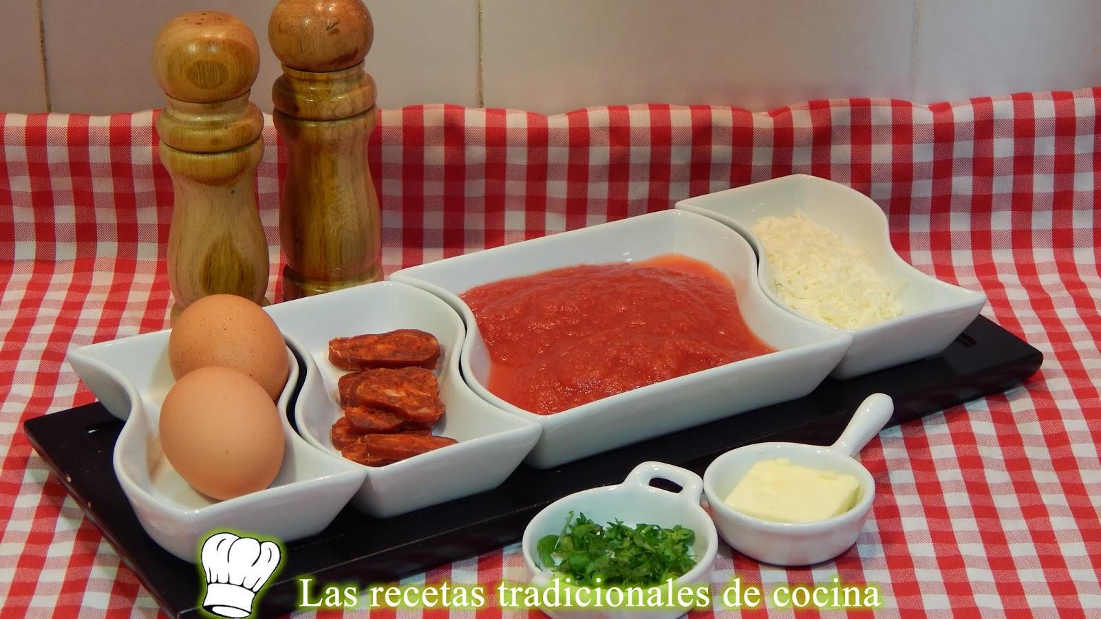 Receta fácil de huevos a la Navarra