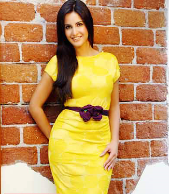 Katrina Kaif In Yellow Dress