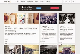 Enpine Blog Blogger Template