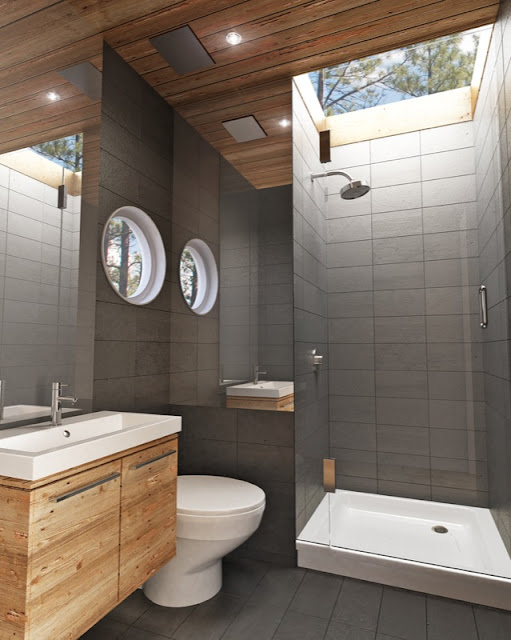 Casas contenedores alp 320 casa prefabricada de meka for Bathroom designs 6 x 10