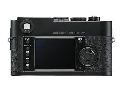 Fotografia della Leica M Monochrom vista di dorso