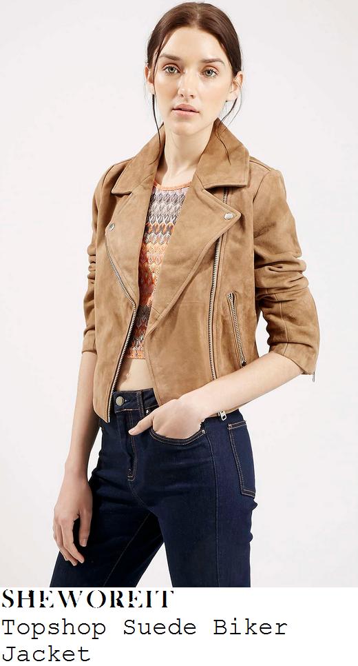 kylie-jenner-tan-suede-biker-jacket