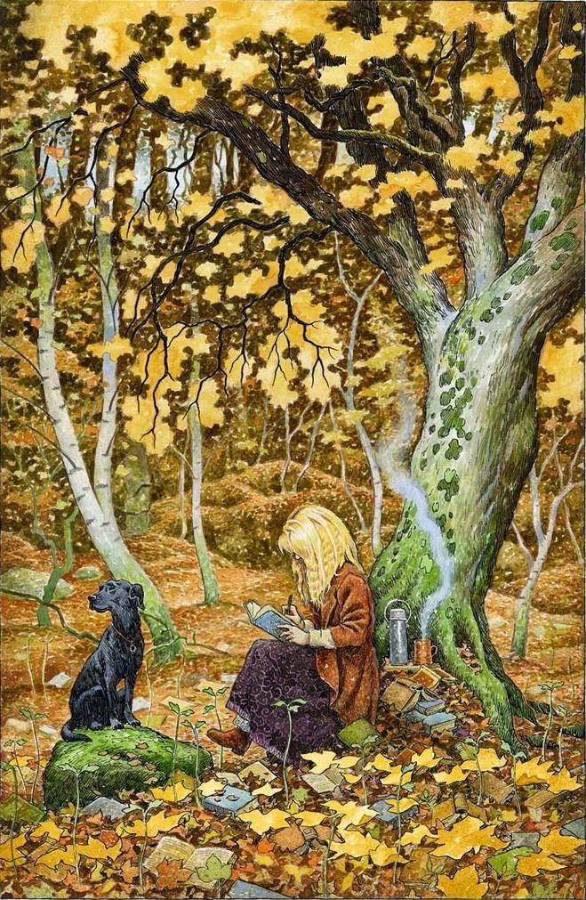 The Word Wood, David Wyatt