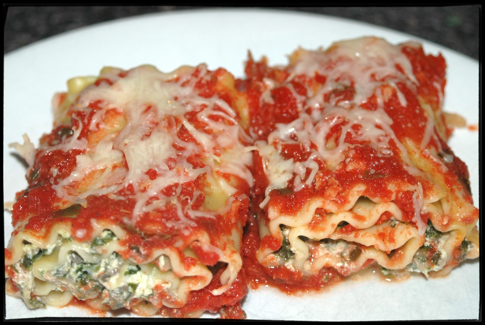 Witchery in the Kitchen: Kale and Mushroom Lasagna Roll-ups