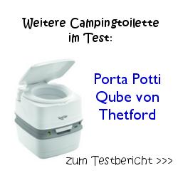 Weitere Campingtoilette im Test: Porta Potti Qube