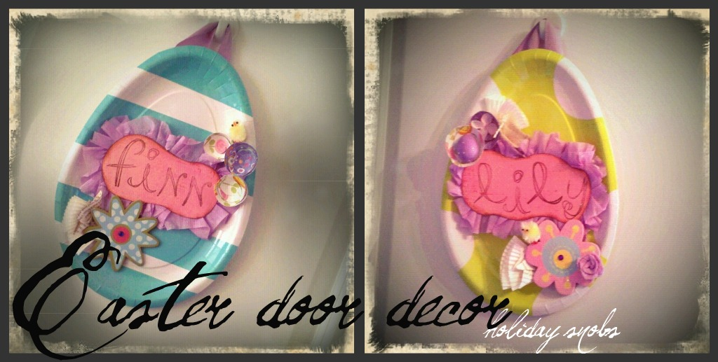 Holiday Snob: Easter Door Decor!