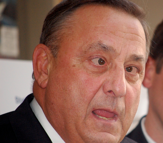 Paul LePage, 'Governor' of Maine. (Adapted from Photo by Maine Dept of Ed)