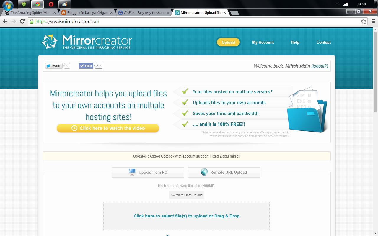 7 Situs Hosting Upload Files Terbaik