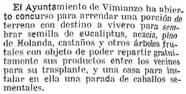 Más eucaliptos,  más   coníferas. Consecuencias de la sed de beneficio$ en la húmeda Galicia. El sector forestal. 1925_Terreno+concejo+Vimianzo+para+vivero+eucaliptos+y+otros+arboles