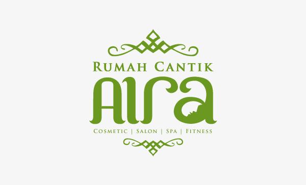Desain Logo Rumah Cantik Aira Desainstudio Tutorial Photoshop