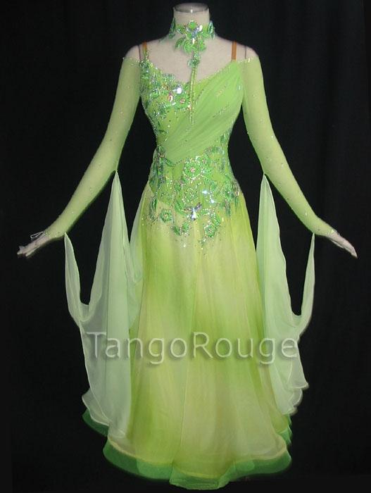 Ballroom Weddings Pic: Ballroom Waltz Dresses